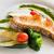жареный · рыбы · филе · картофель · чипов - Сток-фото © smuay