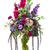 bouquet · fleurs · œillet · chrysanthème · lavande · verre - photo stock © smuay