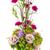 bouquet · fleurs · rose · œillet · fleur · verre - photo stock © smuay