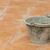 plástico · balde · manchado · concreto · azulejos · piso - foto stock © smuay