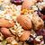 müsli · houten · tafel · fruit · mix · gezonde · voeding - stockfoto © smuay
