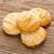 ビスケット · 行 · チョコレート · 孤立した · 白 - ストックフォト © smuay