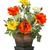 virág · egyezség · piros · narancs · citromsárga · izolált - stock fotó © smuay