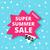 スーパー · 夏 · 販売 · バナー · 急ぐ · 1 - ストックフォト © softulka