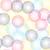 универсальный · красочный · геометрический · круга · простой - Сток-фото © softulka