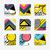 カラフル · 幾何学的な · デザイン · 創造 · ベクトル - ストックフォト © softulka