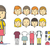 Girl character creation set stock photo © softulka