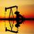 alto · jóquei · gasolina · bocal · ilustração - foto stock © sognolucido
