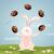 面白い · ウサギ · チョコレート · イースターエッグ · バニー · 卵 - ストックフォト © sognolucido