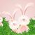 coelho · coelhos · família · doce · casa · primavera - foto stock © sognolucido