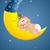 luna · sonno · foto · babbo · natale · dormire · lucido - foto d'archivio © sognolucido