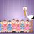 stork with many children stock photo © sognolucido