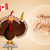turkey with flag of canada stock photo © sognolucido