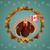 トルコ · フラグ · カナダ · サンクスギビングデー · 日 · 面白い - ストックフォト © sognolucido