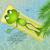 inflable · palma · ilustración · agua · naturaleza · mar - foto stock © sognolucido