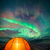 camping under the northern lights stock photo © solarseven
