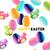 húsvét · szett · színes · tojások · aranyos · nyuszi · egyéb - stock fotó © solarseven