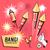 cartoon · vuurwerk · praten · retro · tekening · schreeuwen - stockfoto © solarseven