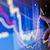 触れる · 株式市場 · グラフ · グラフ · タッチスクリーン - ストックフォト © solarseven