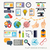 flat design modern icons symbols stock photo © solarseven