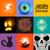 vector halloween collection stock photo © solarseven
