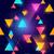 absztrakt · kék · mértani · háromszög · terv · háttér - stock fotó © solarseven