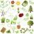 jardinage · objets · noir · silhouettes · neuf · carré - photo stock © soleilc