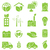green eco and environment icons stock photo © soleilc