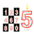 birthday candles number red stock photo © sonia_ai