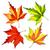 осень · лист · оранжевый · красный · завода · белый - Сток-фото © sonia_ai