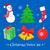 カラフル · 陽気な · クリスマス · 明けましておめでとうございます · アイコン · ウェブ - ストックフォト © sonya_illustrations