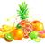 establecer · verde · frutas · hortalizas · aislado · blanco - foto stock © sonya_illustrations