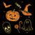 chalked halloween collection stock photo © sonya_illustrations