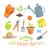 ogrodnictwo · wyposażenie · narzędzia · łopata · grabie · wiosną - zdjęcia stock © sonya_illustrations