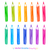 colorful set of pencils stock photo © sonya_illustrations