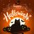 feliz · halloween · abóboras · lua · escuro · cemitério - foto stock © sonya_illustrations