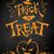 truc · halloween · poster · oranje · krijt - stockfoto © Sonya_illustrations