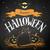krijttekening · halloween · briefkaart · vector · witte · oranje - stockfoto © Sonya_illustrations