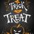 truc · halloween · poster · witte · oranje - stockfoto © Sonya_illustrations