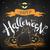 gelukkig · halloween · briefkaart · vector · witte · oranje - stockfoto © Sonya_illustrations