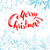 christmas objects and lettering on white background stock photo © sonya_illustrations