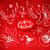 karácsony · klasszikus · vonal · művészet · vektor · szett - stock fotó © sonya_illustrations