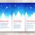 christmas leaflet design template stock photo © sonya_illustrations