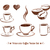 чашку · кофе · эскиз · кофе · акварель · дизайна - Сток-фото © sonya_illustrations