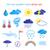 child drawings of weather symbols stock photo © sonya_illustrations