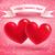 pembe · iki · kalpler · sevgililer · günü · kalp · dizayn - stok fotoğraf © sonya_illustrations