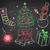 Noel · Retro · renk · vektör · uzun · gölge - stok fotoğraf © sonya_illustrations