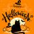 halloween · tökök · hold · fű · égbolt · textúra - stock fotó © sonya_illustrations
