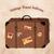vintage travel suitcase stock photo © sonya_illustrations
