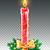 joyeux · Noël · couleur · pour · aquarelle · couronne · vecteur · rouge - photo stock © sonya_illustrations